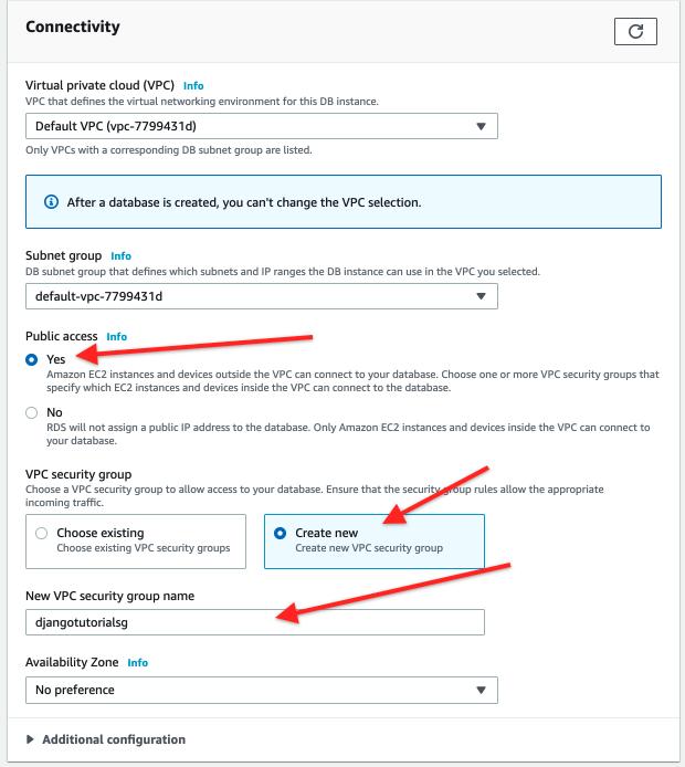 AWS RDS Postgres Connectivity Public Access