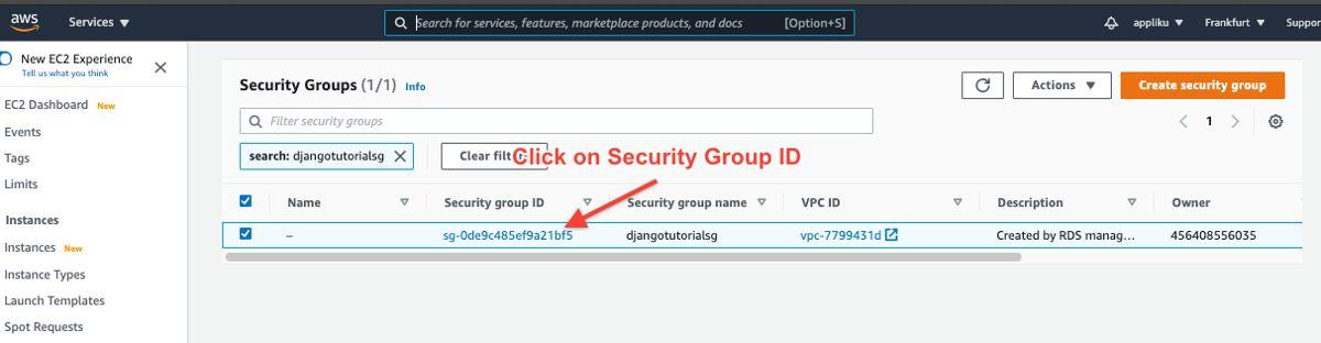AWS EC2 Security Groups